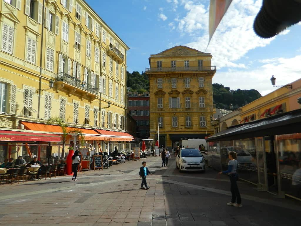 Streets in Nice France