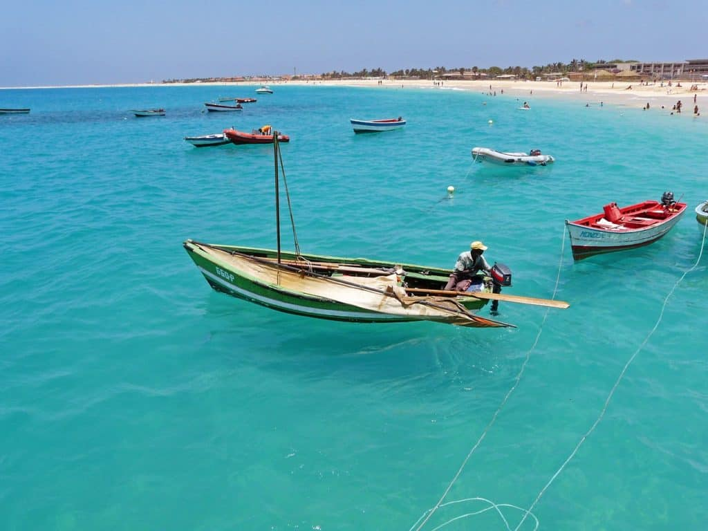 Cape Verde Sal Fishing Boat